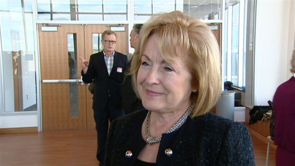 La ministre des Affaires francophones de l'Ontario, Madeleine Meilleur (archives).