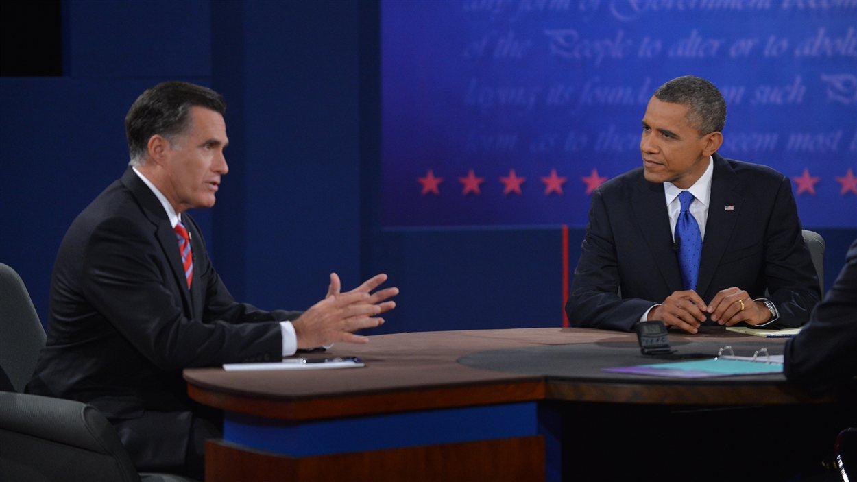 Troisième débat entre Mitt Romney et Barack Obama