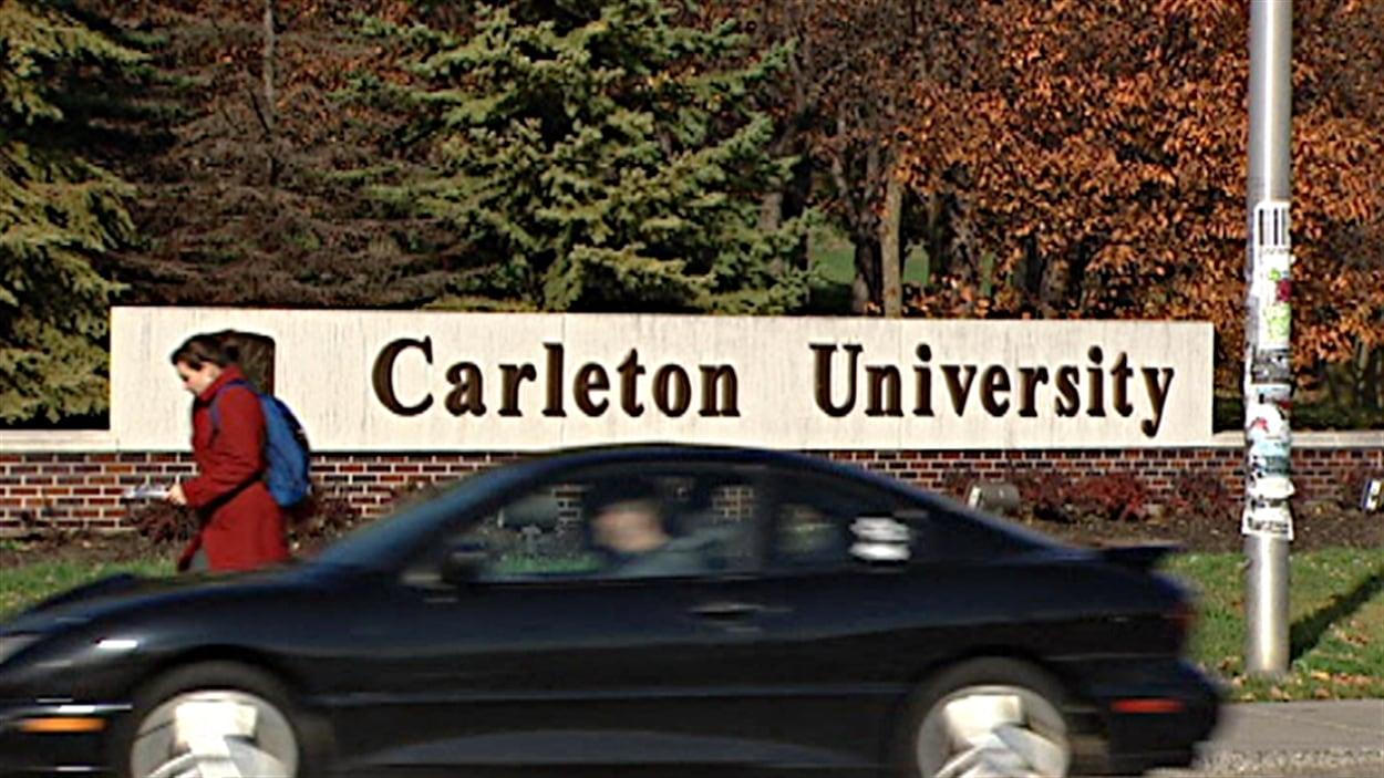 L'Université Carleton d'Ottawa.