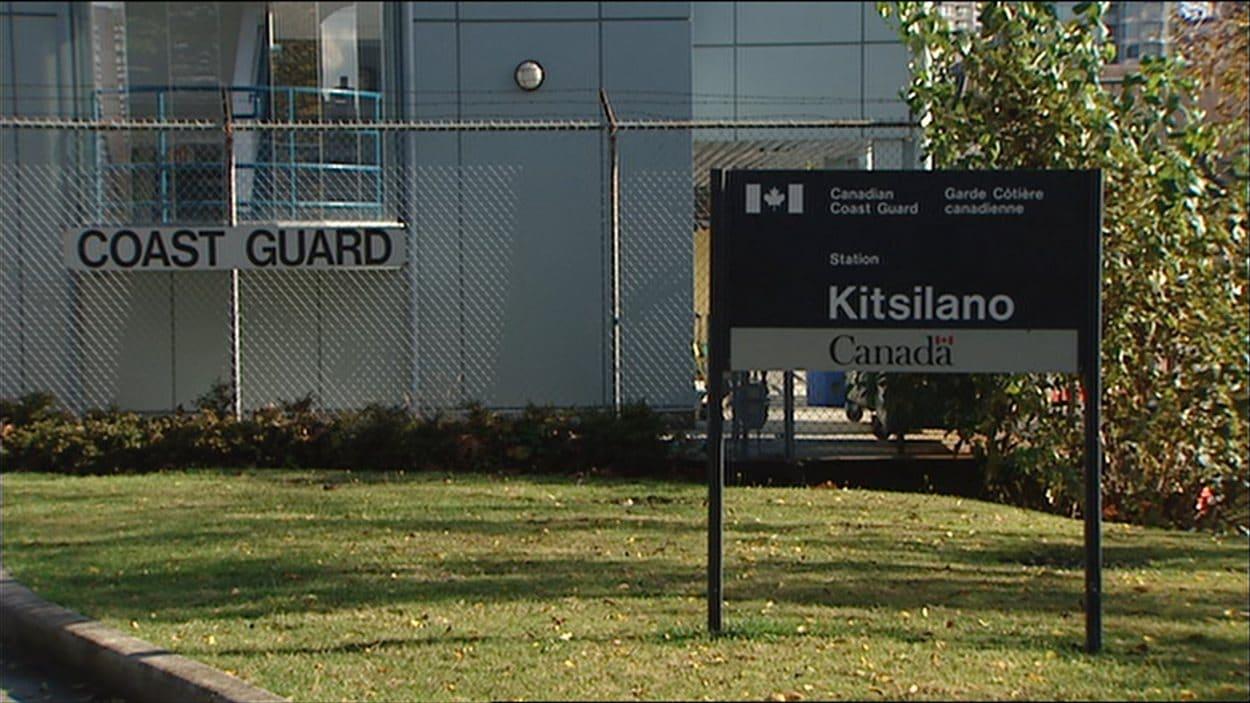 Garde Côtière canadienne de Kitsilano.