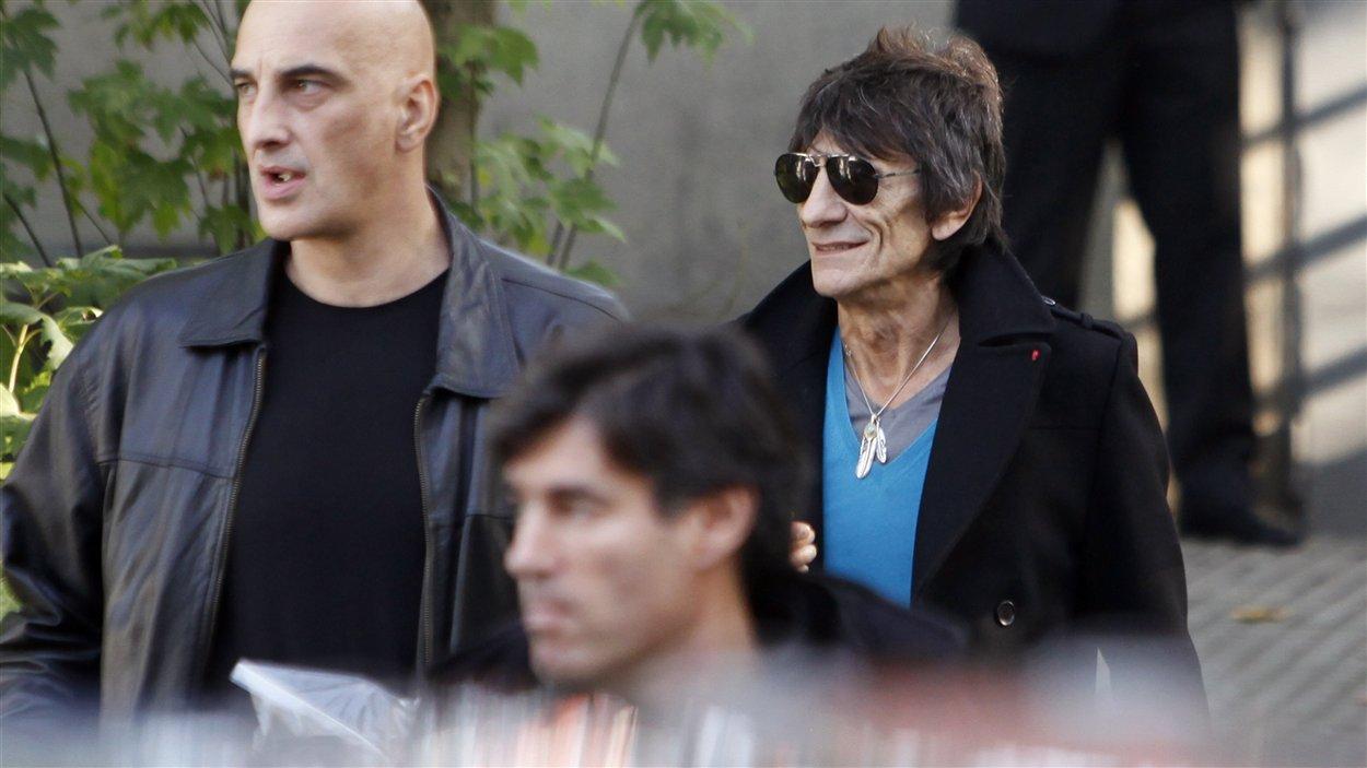Le guitariste Ron Wood, des Rolling Stones.
