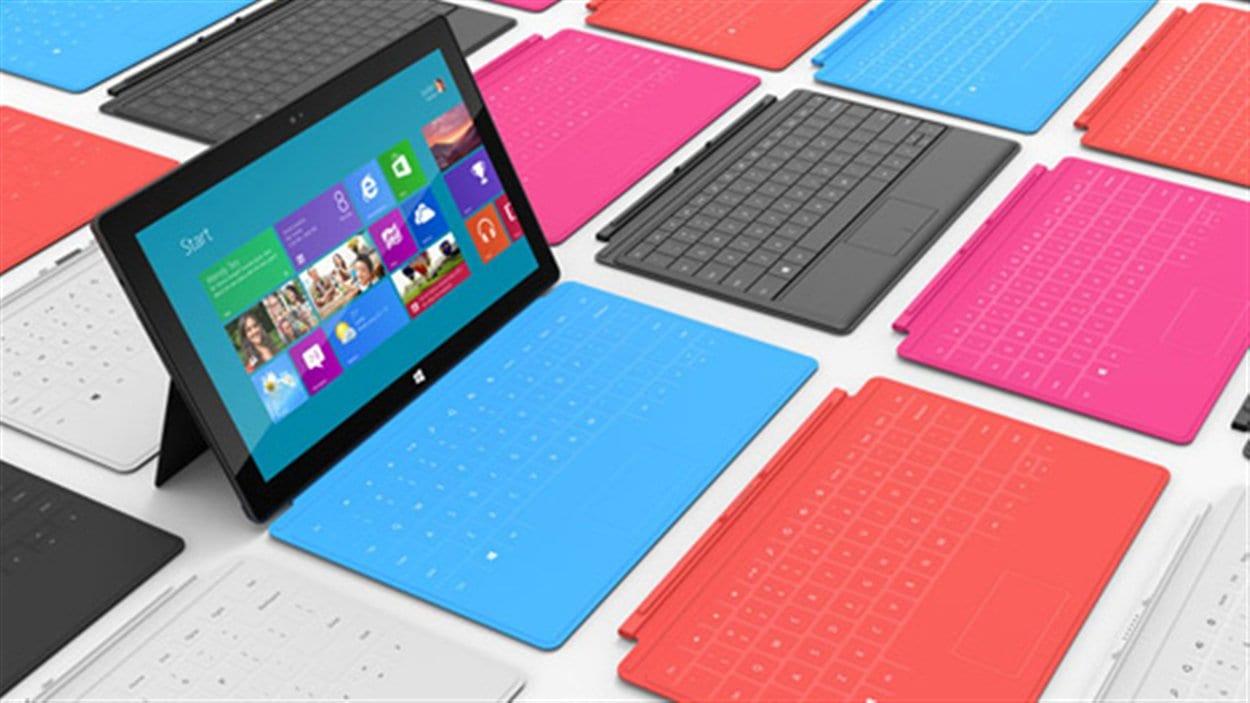 Des tablettes Surface, de Microsoft