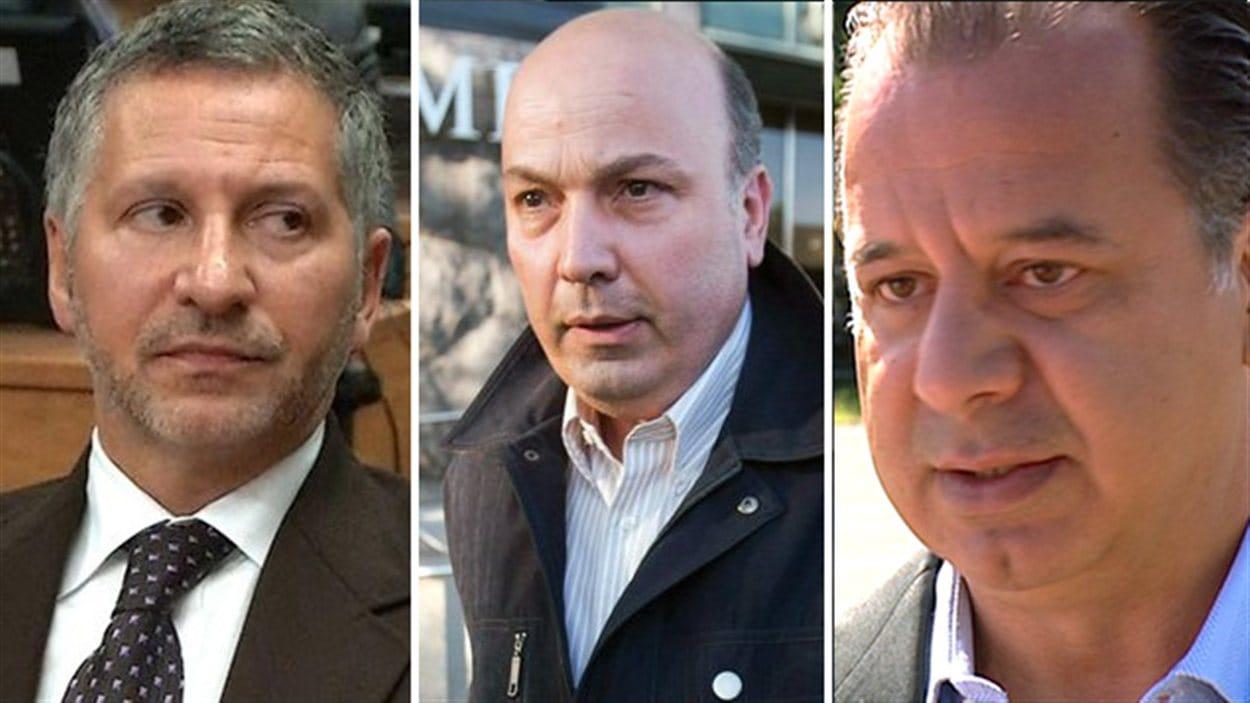 Elio Pagliarulo, Frank Zampino et Paolo Catania