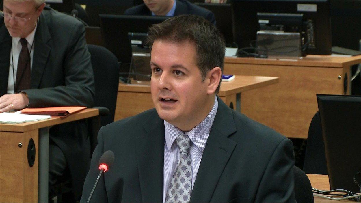 Martin Dumont, ex-organisateur d'Union Montréal