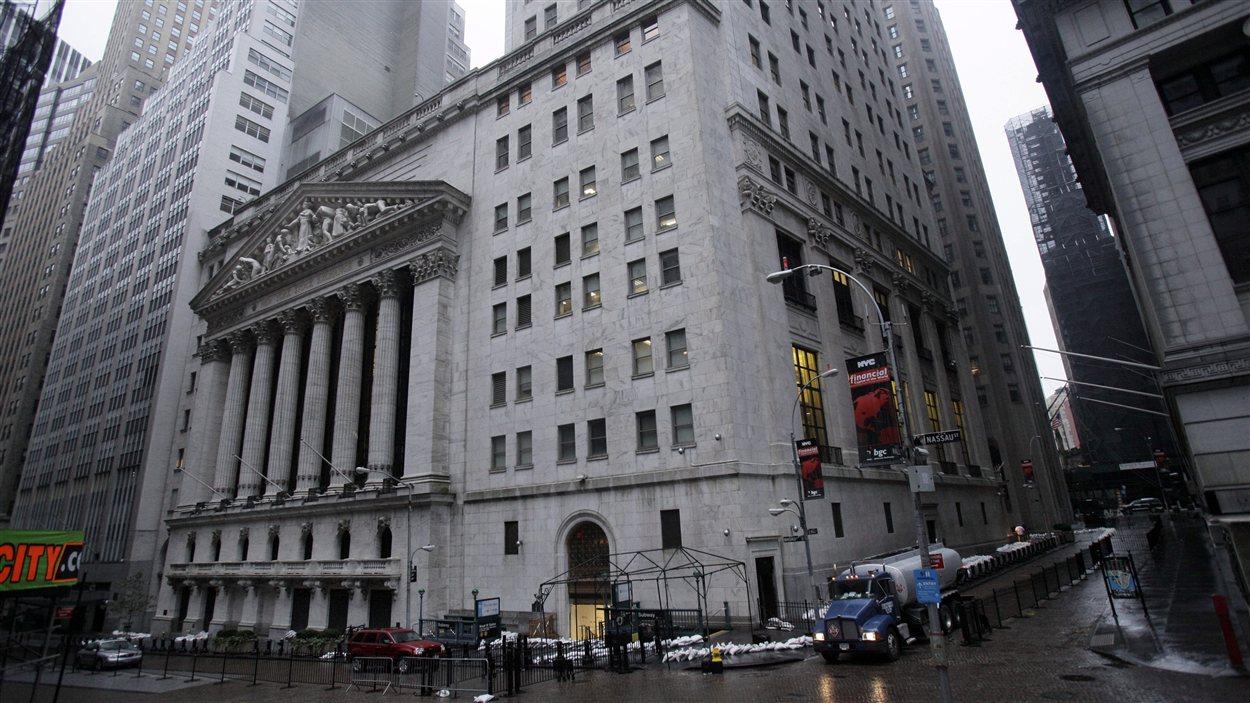 La Bourse de New York mardi matin.