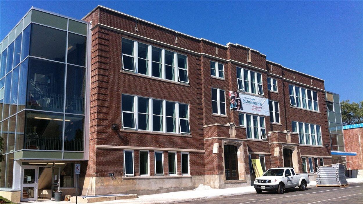 L'établissement s'appelle désormais, l'école Norval-Morrisseau.