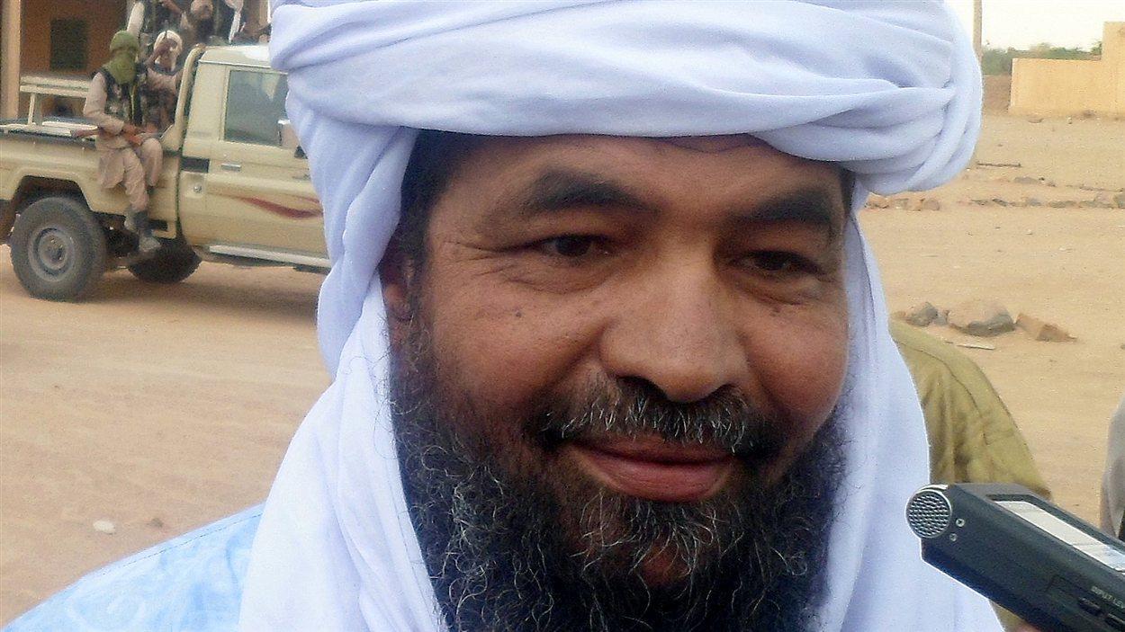 Le chef d'Ansar Dine Iyad Ad Ghaly