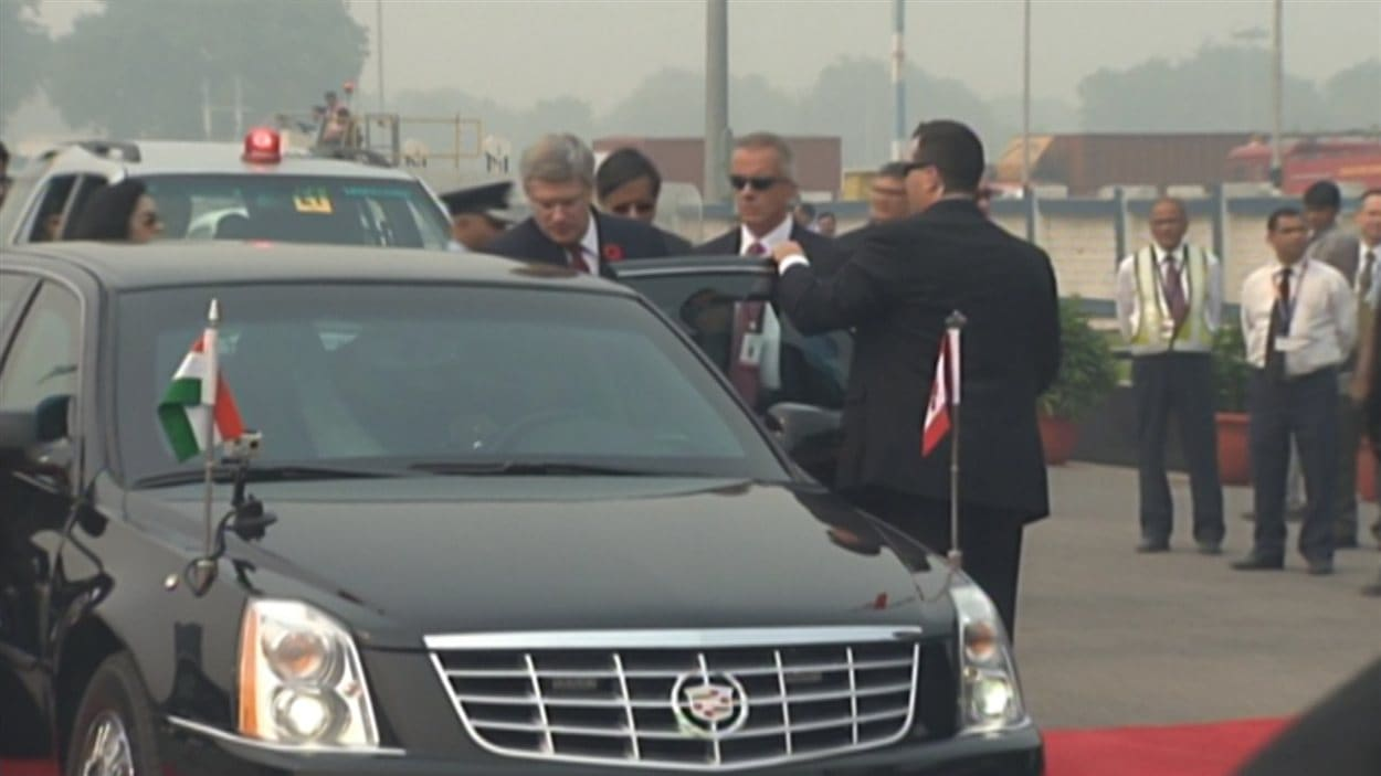 La limousine du premier ministre canadien