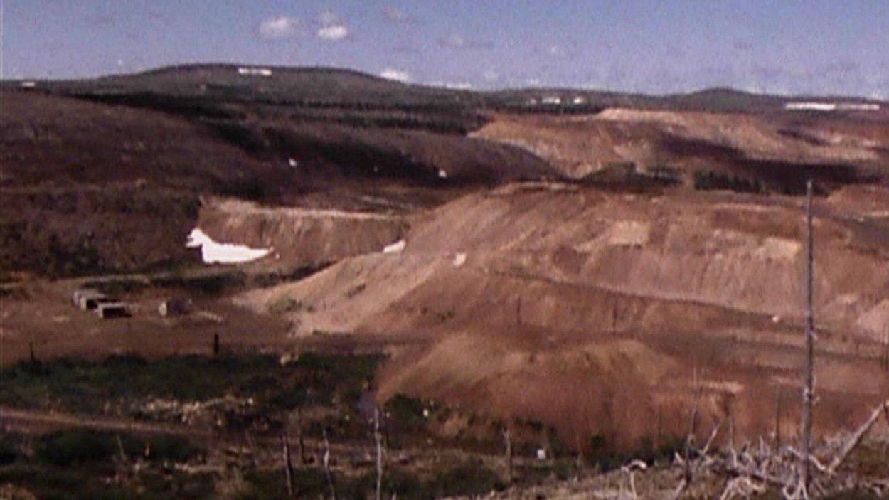 <b>Mine à Schefferville au début des années 1980</b> | Archives de Radio-Canada