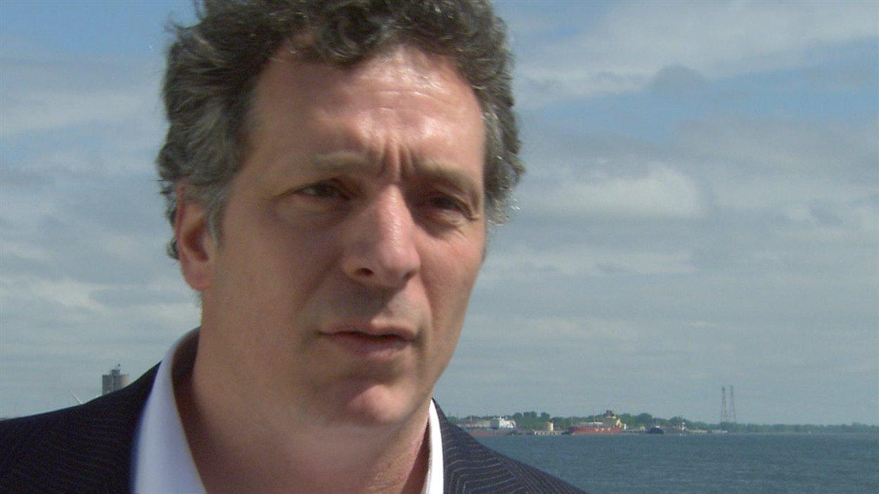 André Saint-Hilaire, professeur en science de l'eau à l'Institut national de la recherche scientifique
