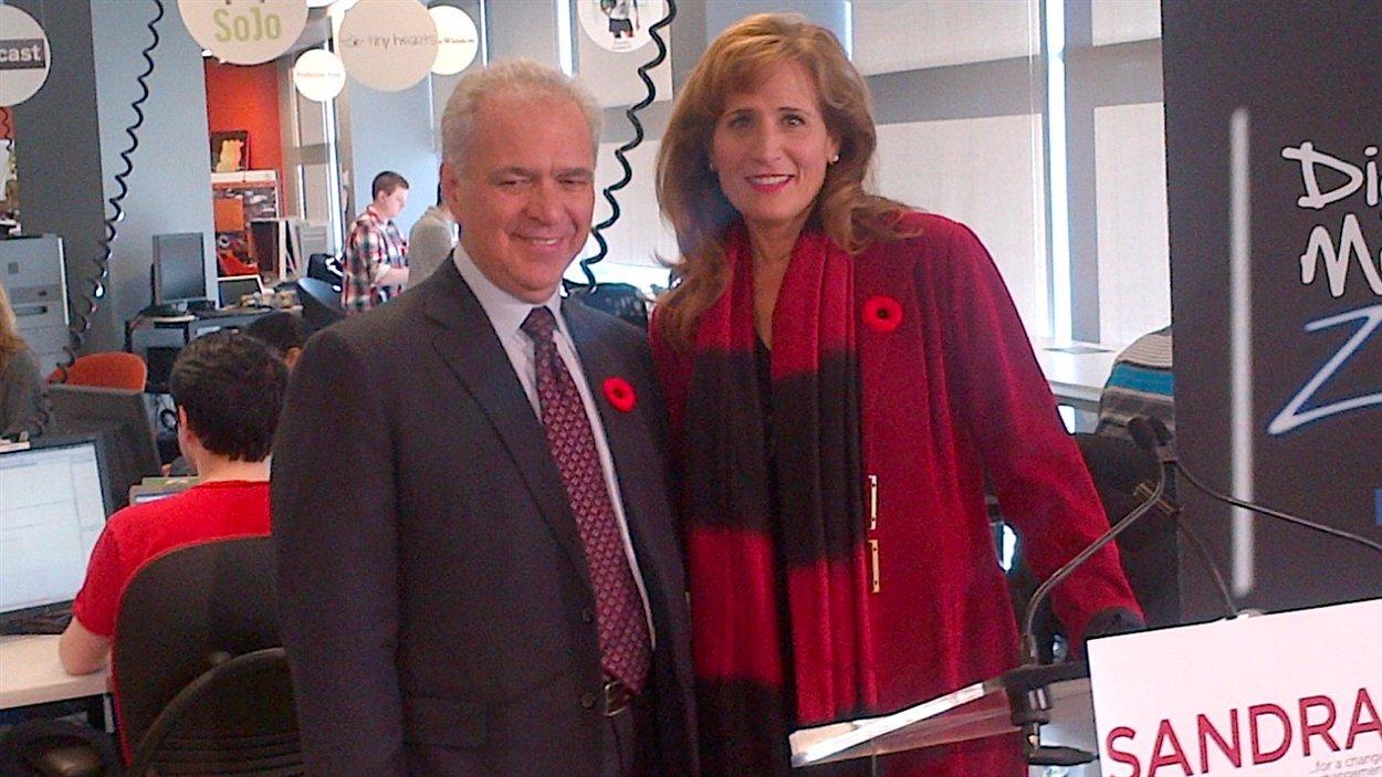 Sandra Pupatello et son mari Jim Bennett