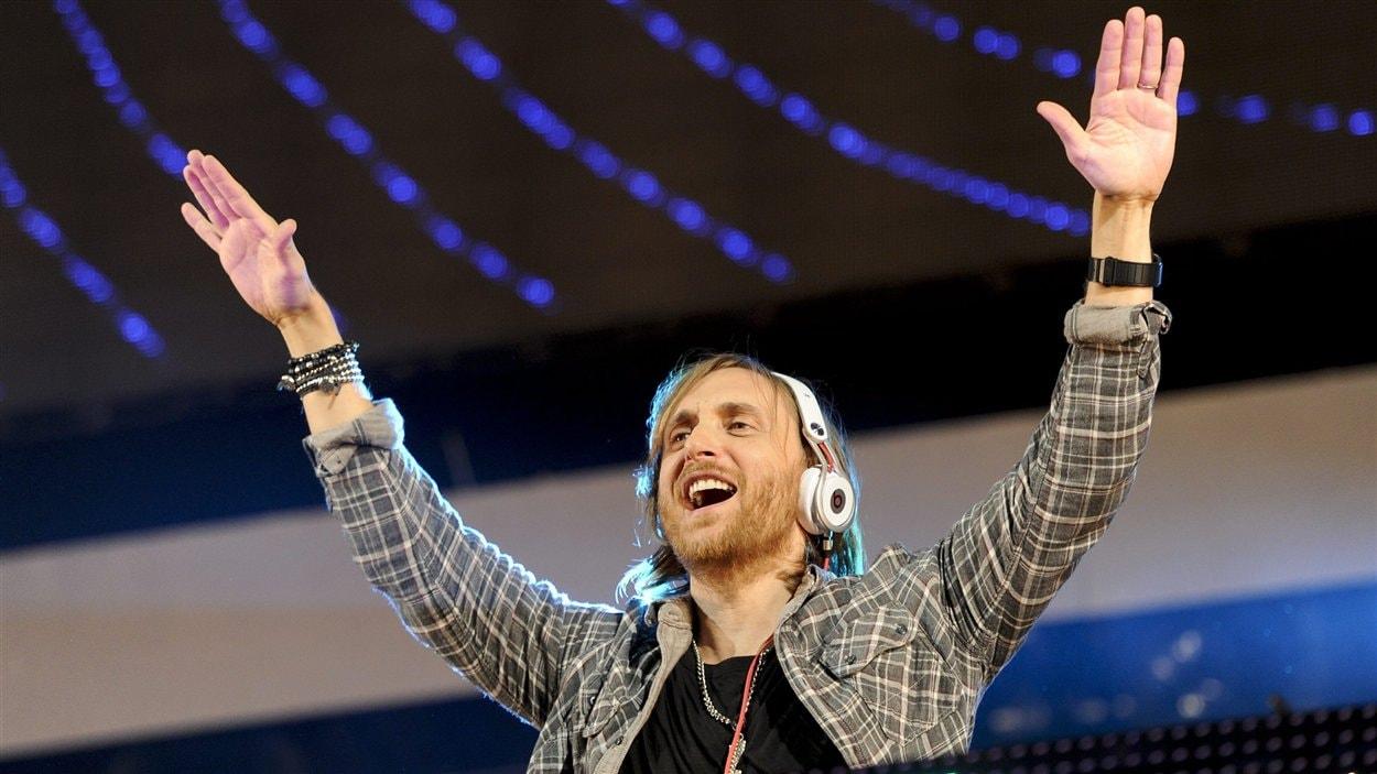 Le DJ David Guetta