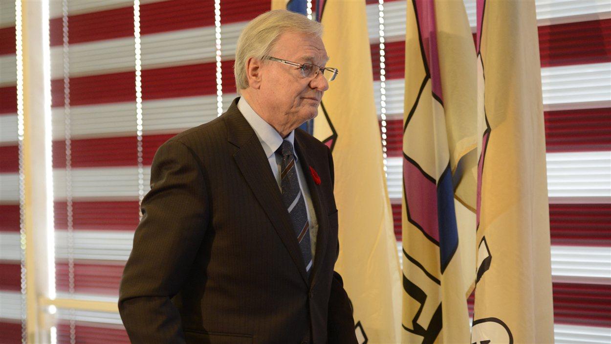 Gilles Vaillancourt aura été maire de Laval 33 ans.