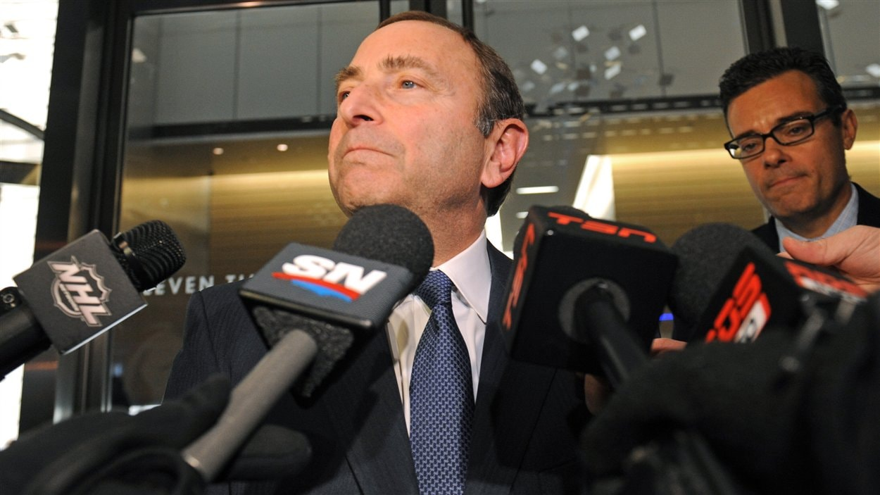 Gary Bettman à New York