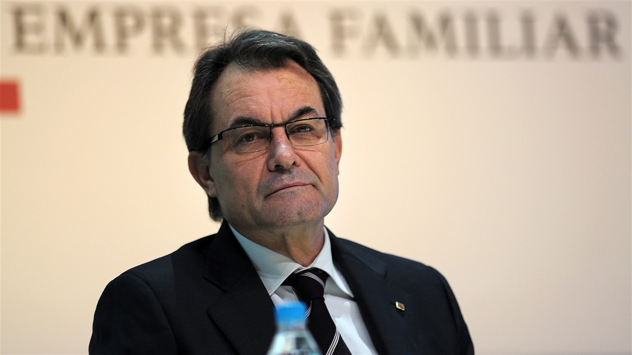 ©AFP/Lluis Gene | <b>Le président catalan Artur Mas</b>