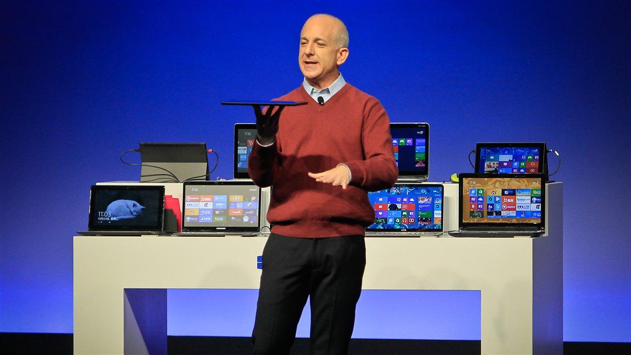 Steven Sinofsky, président des opérations Windows et Windows Live, le 23 octobre 2012.
