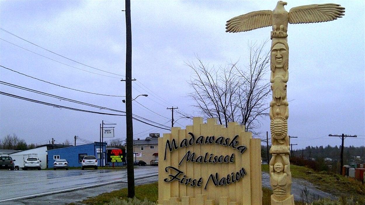 La première nation malécite du Madawaska, au Nouveau-Brunswick