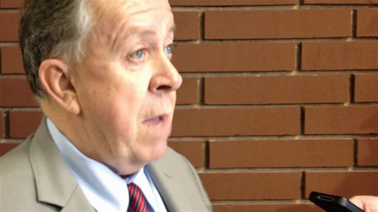 Le ministre des Richesses naturelles, Michael Gravelle