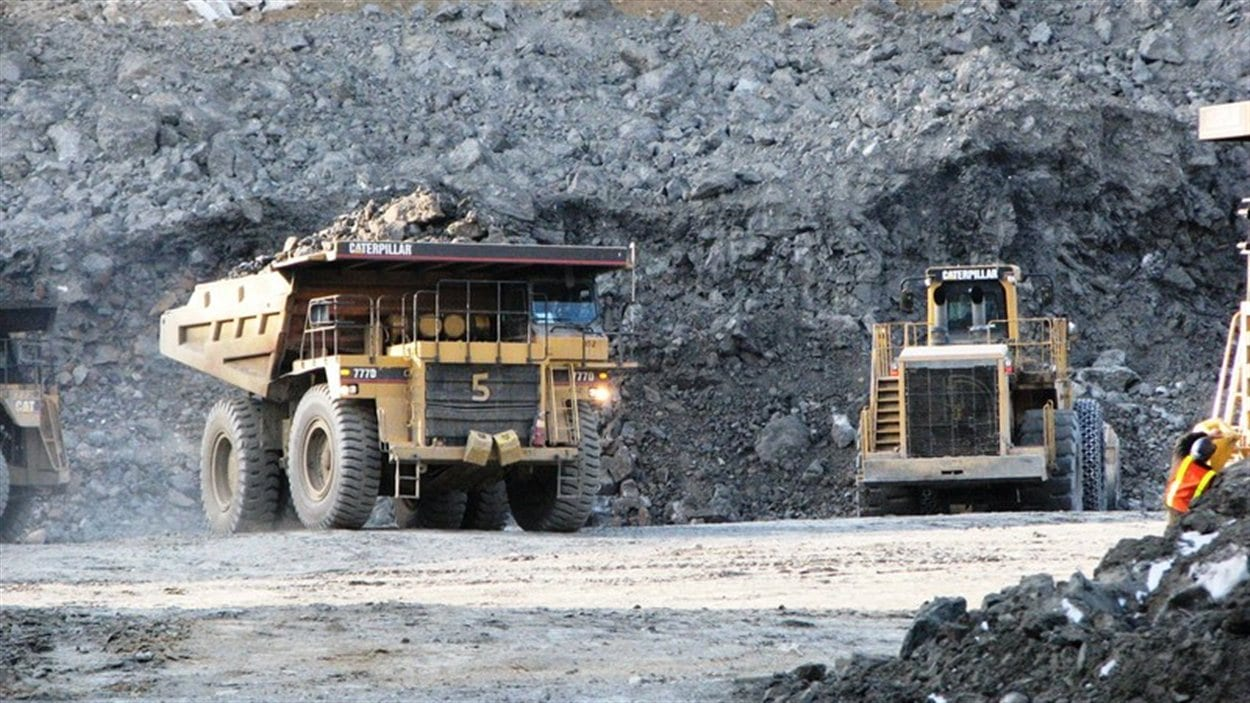 mine Minto Yukon