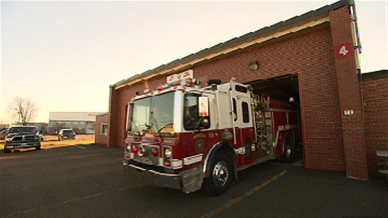 Caserne de pompiers, Moncton, N.-B.