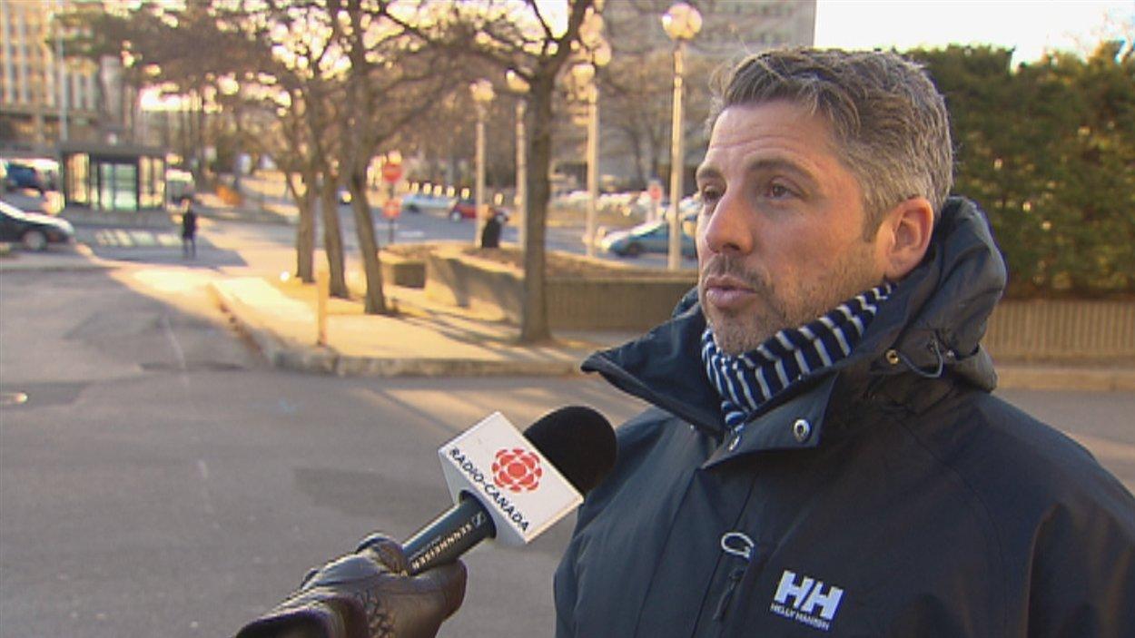 Thierry Giasson, professeur au Département d'information et de communication à l'Université Laval