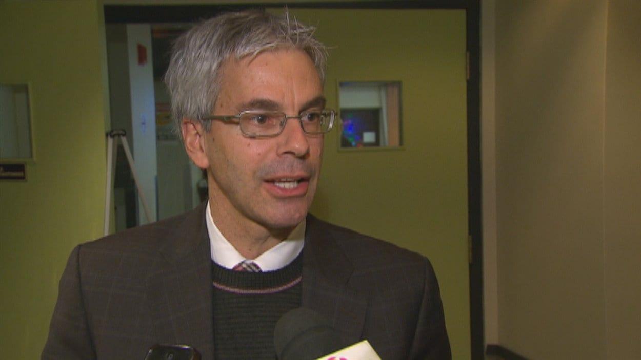Le vice-président au comité exécutif à la Ville de Québec, François Picard