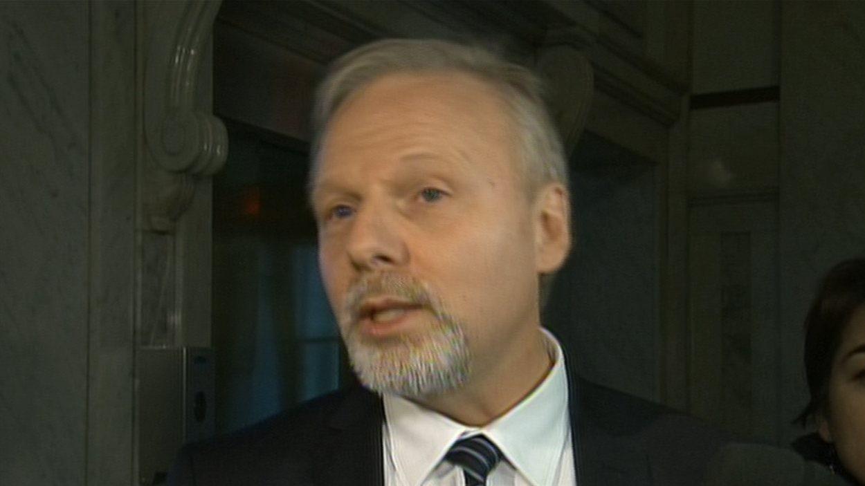 Le ministre des Relations internationales du Québec, Jean-François Lisée