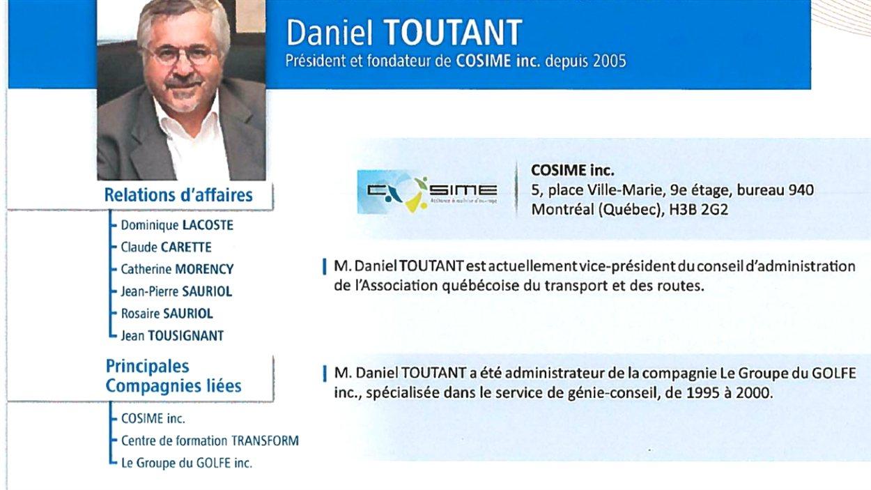Daniel Toutant