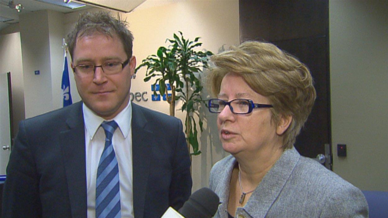 Le maire de Neuville, Bernard Gaudreau, sort satisfait de sa rencontre avec la ministre Maltais.