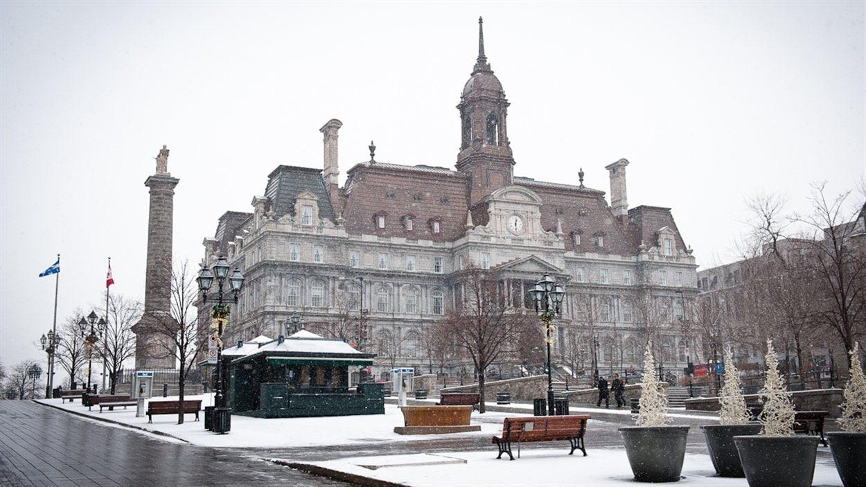 Hôtel de ville de Montréal