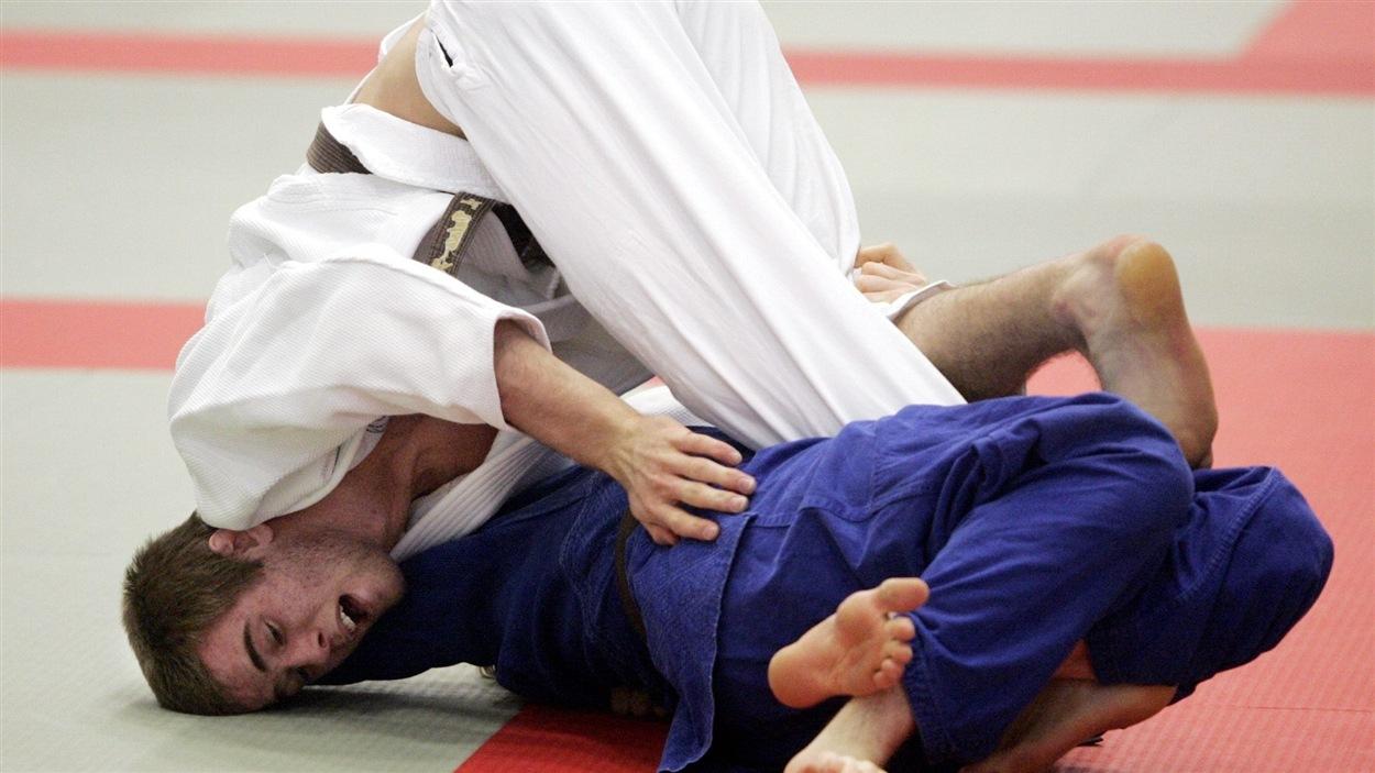 Le judoka Antoine Valois-Fortier
