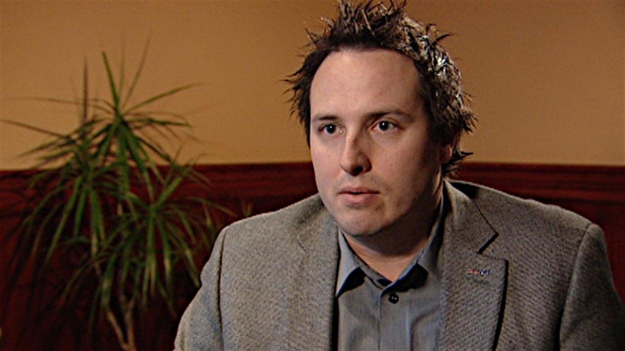 Martin Beaudoin, président de l'Association de la construction du Québec (section Outaouais).