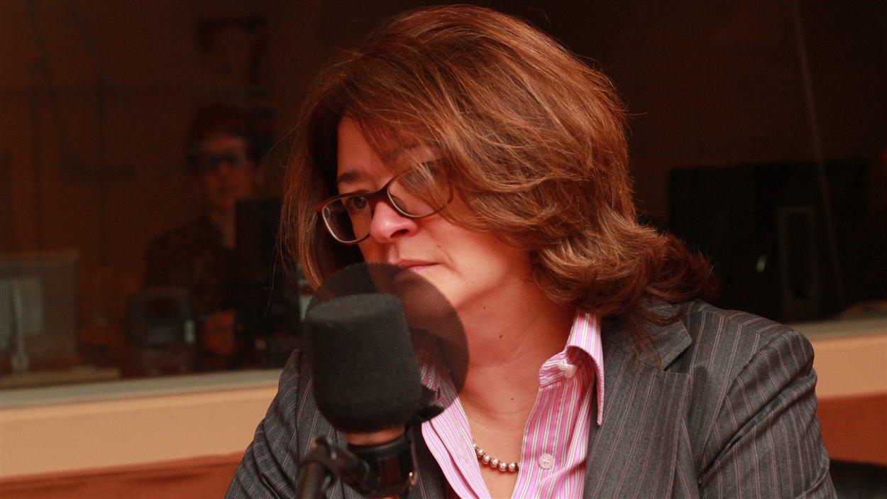 Brigitte Simard  ©Radio-Canada/Marie-Sandrine Auger