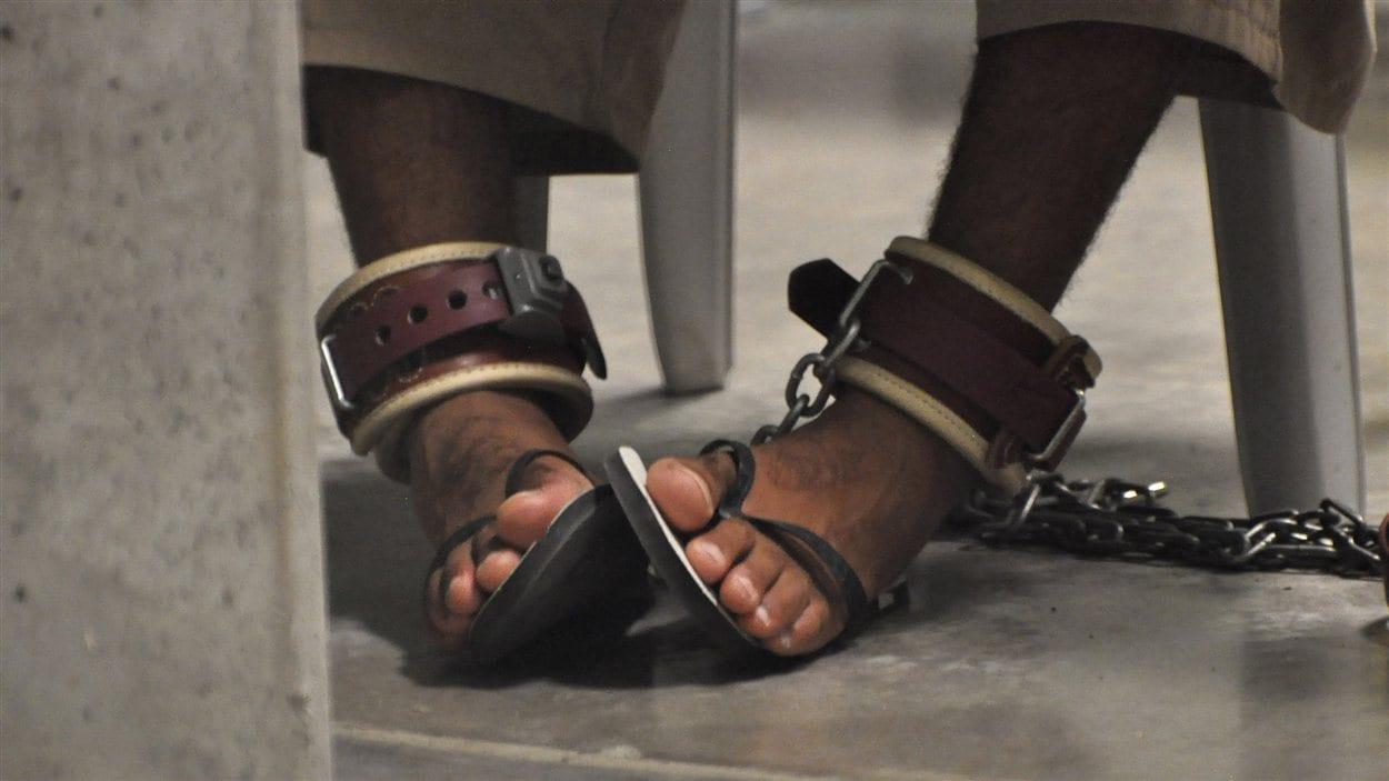 Un détenu de Guantanamo (archives)