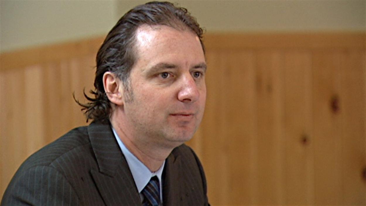 Le député sortant de Papineau, en Outaouais, Alexandre Iracà.