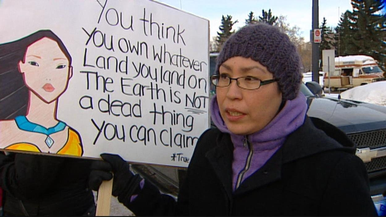 Manifestation en appui au mouvement Idle No More à Edmonton
