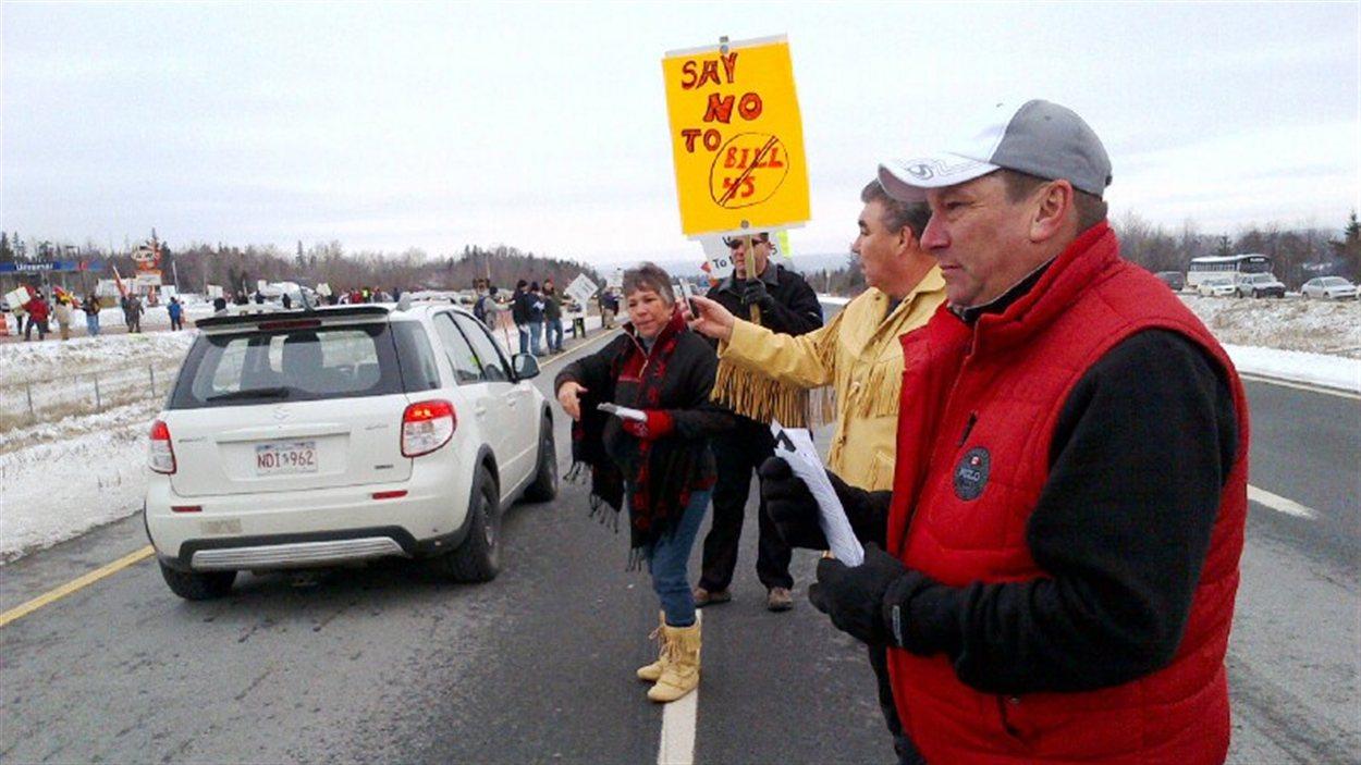 Manifestation à Truro