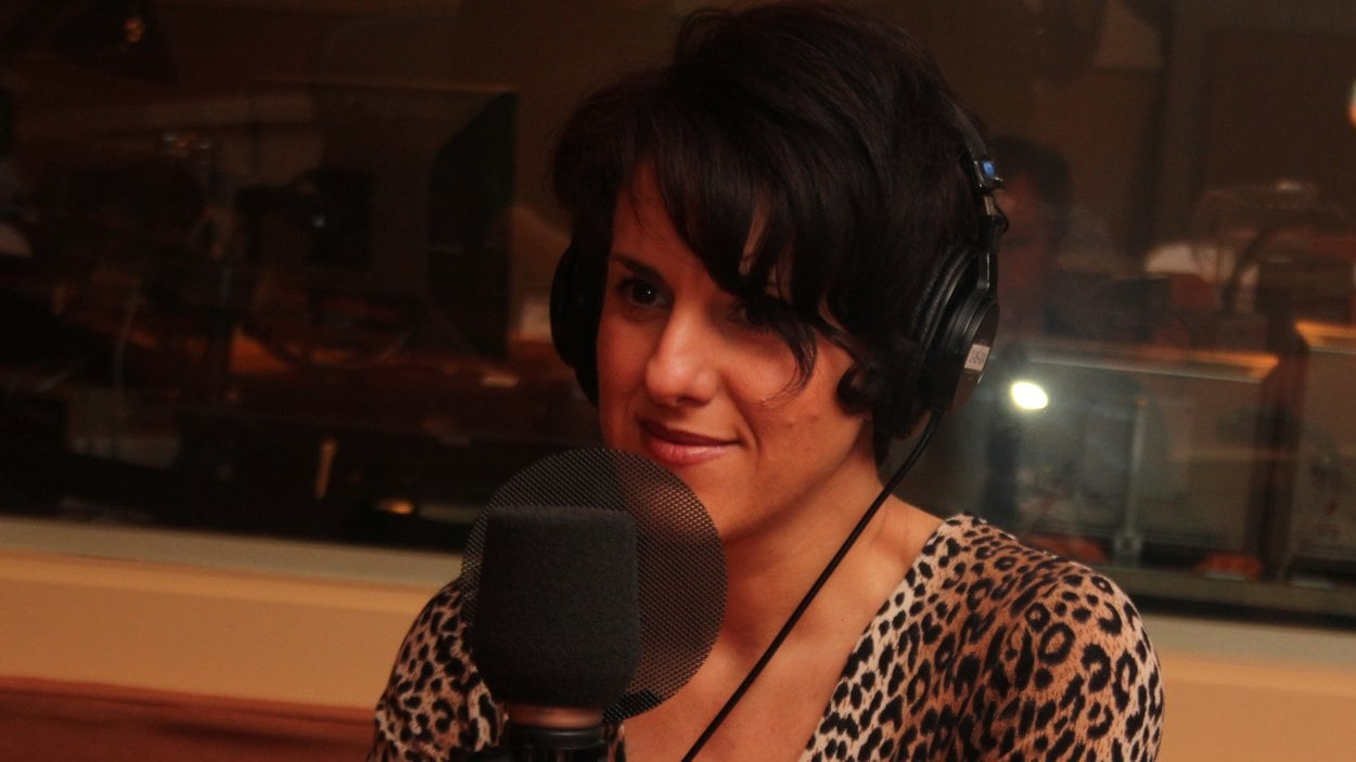 Djemila Benhabib ©Radio-Canada/Marie-Sandrine Auger