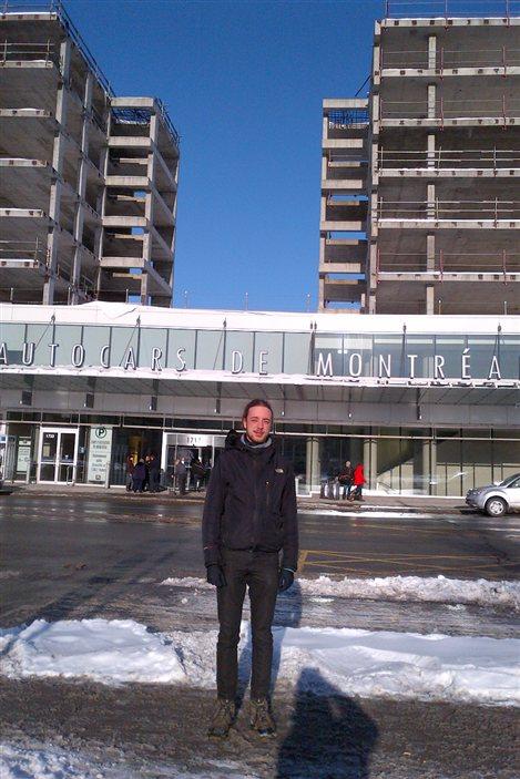 Laurent Levesque, finissant en urbanisme à l'université de Montréal et porte-parole du regroupement UTILE pour le Quartier latin