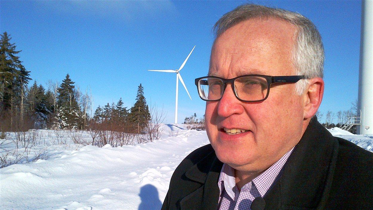 Yves Gagnon, titulaire de la chaire K.-C.-Irving en développement durable, de l'Université de Moncton