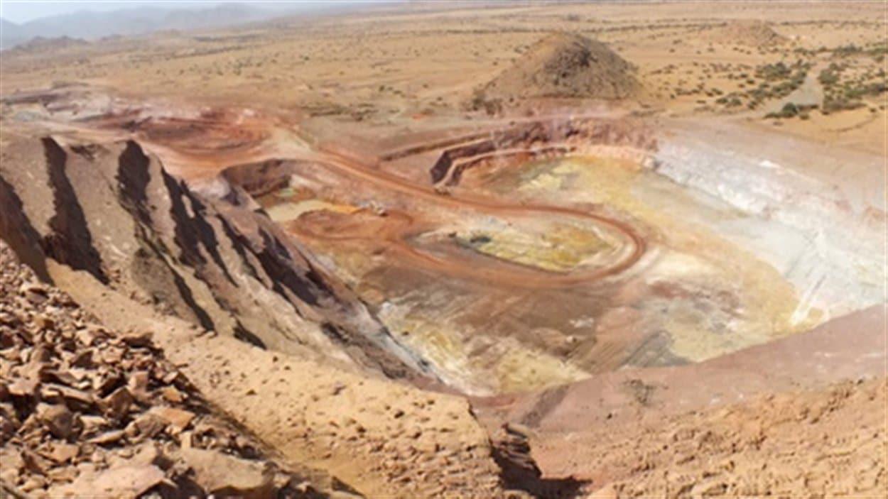 Mine en Érythrée
