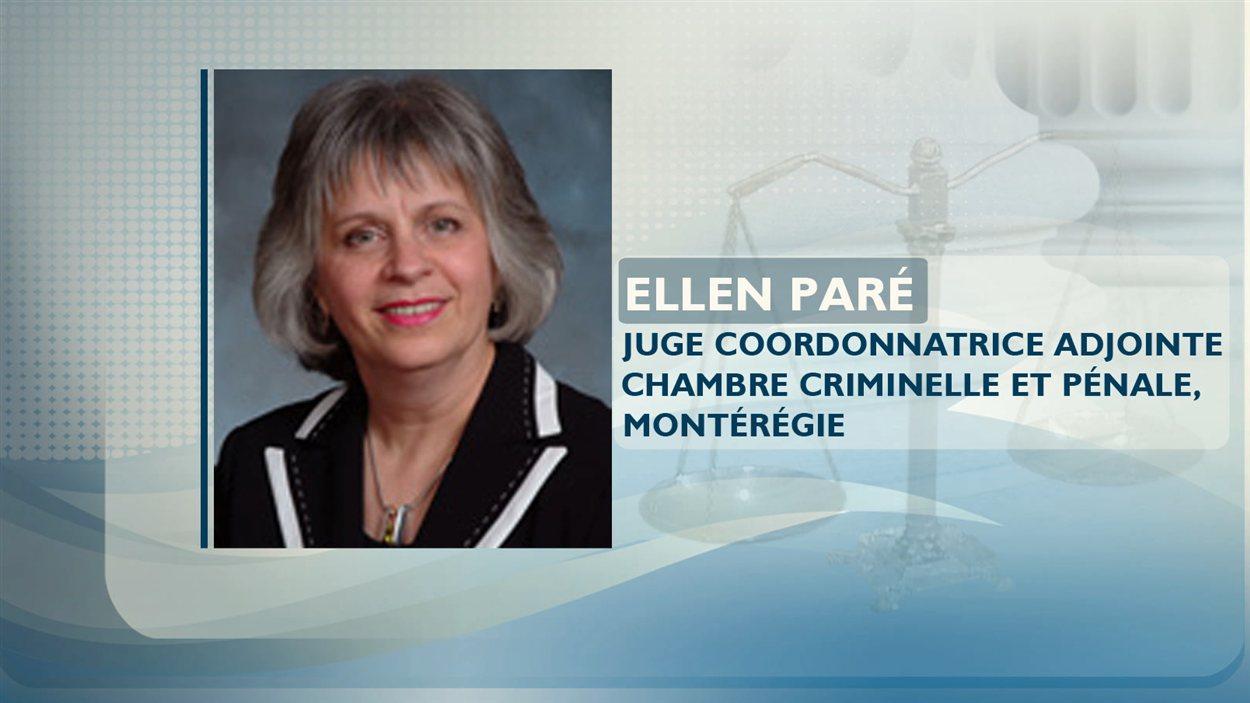 La juge Ellen Paré
