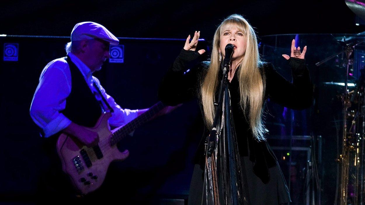 John McVie et Lindsey Buckingham, de Fleetwood Mac.