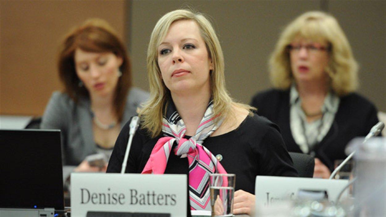 La Saskatchewanaise Denise Batters est nommée au Sénat canadien.