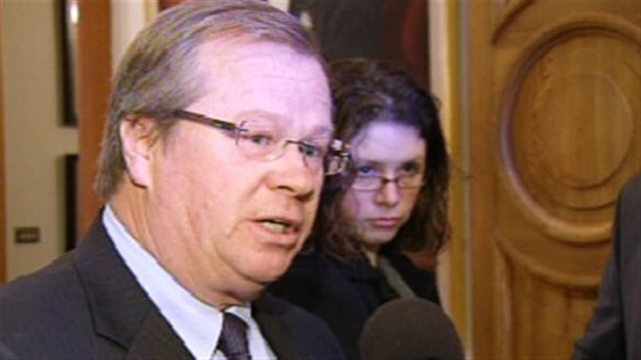 Hugh Flemming Ministre de la Santé du Nouveau-Brunswick