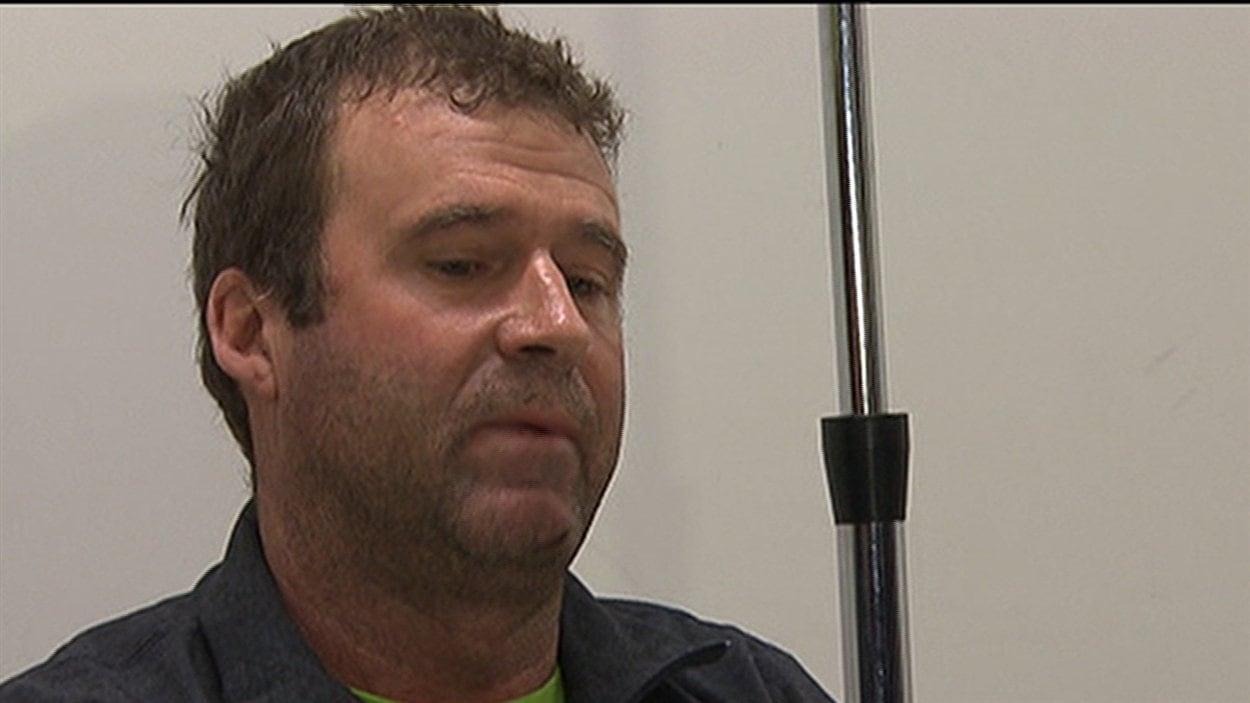 Benoît Robert, survivant du glissement de terrain de L'Épiphanie
