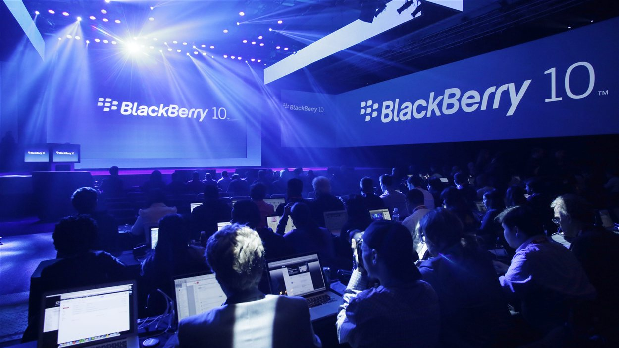 Dévoilement du BlackBerry 10 à New York