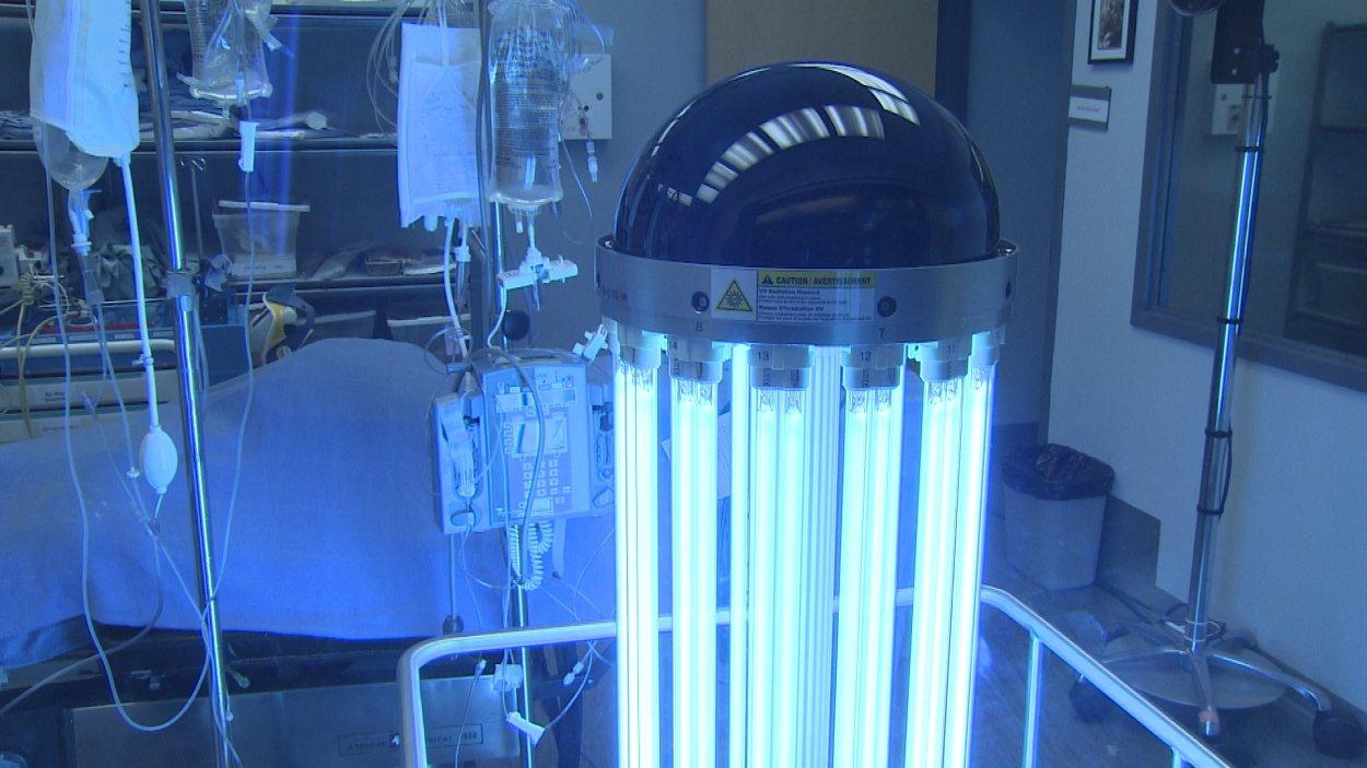 Le robot tueurs de germes Tru-D.