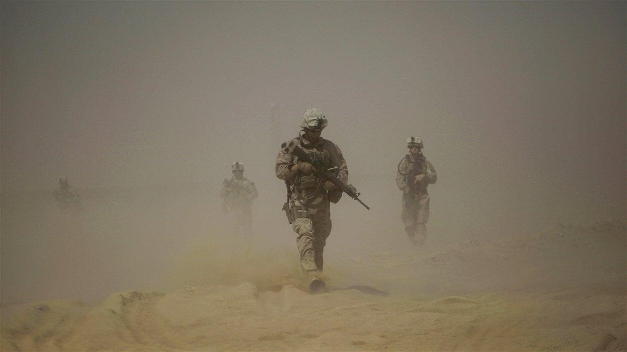 Des militaires américains en Afghanistan