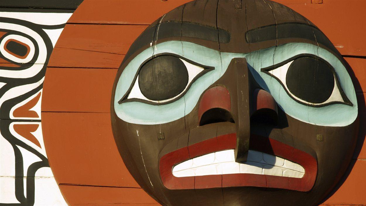 Un totem autochtone.